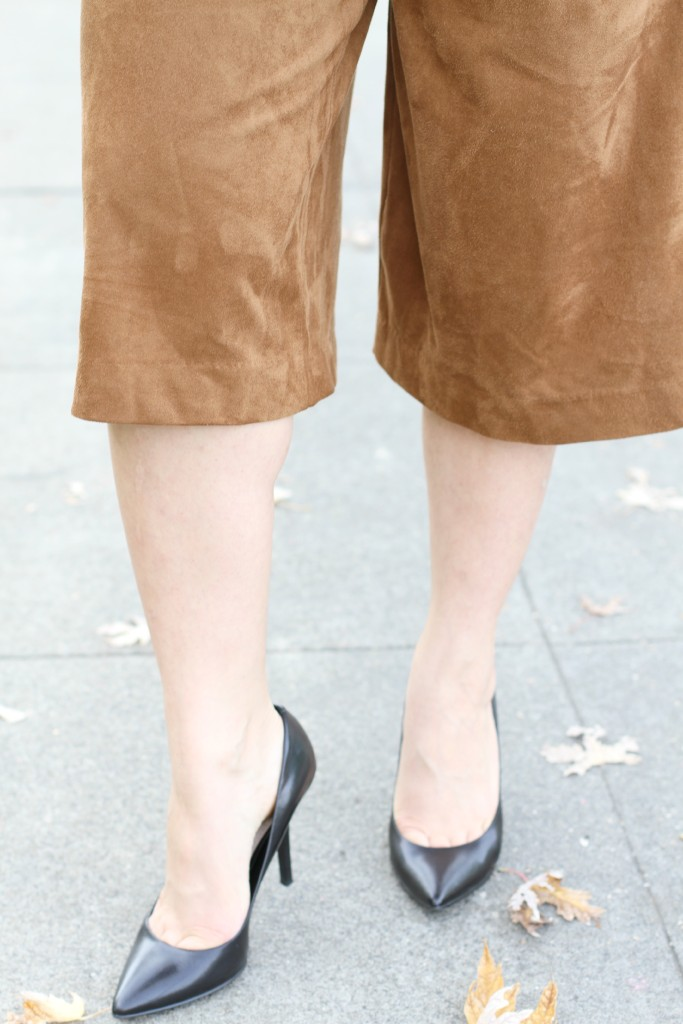 Sueded Culottes