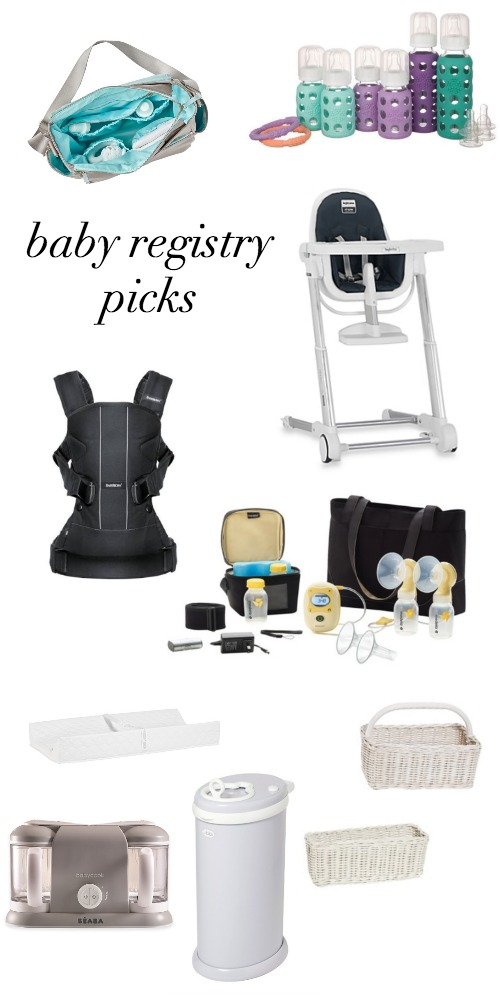 baby registry picks